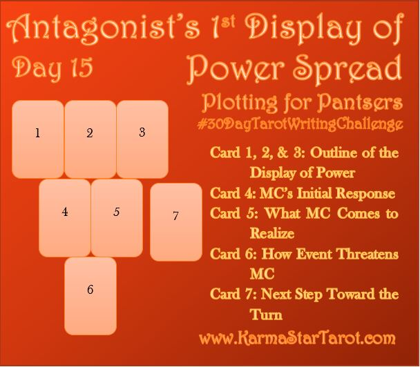 Day 15 of 30 Day Tarot Writing Challenge