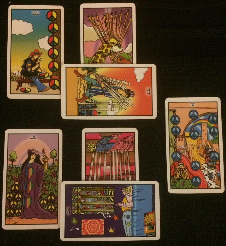 Day 9 of 30 Day Tarot Writing Challenge