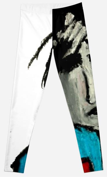 yoga pants art