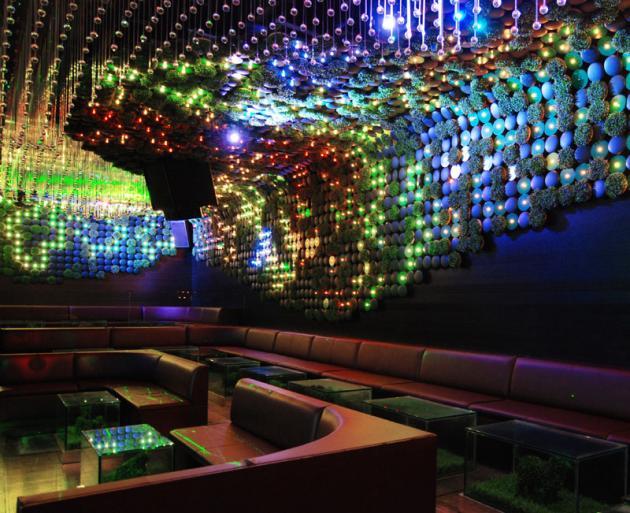 The Greenhouse Nightclub Interior by bluarch Architecture  KARMATRENDZ