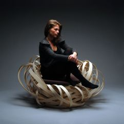 Birds Nest Chair Cheap Modern Rocking The By Nina Bruun Karmatrendz