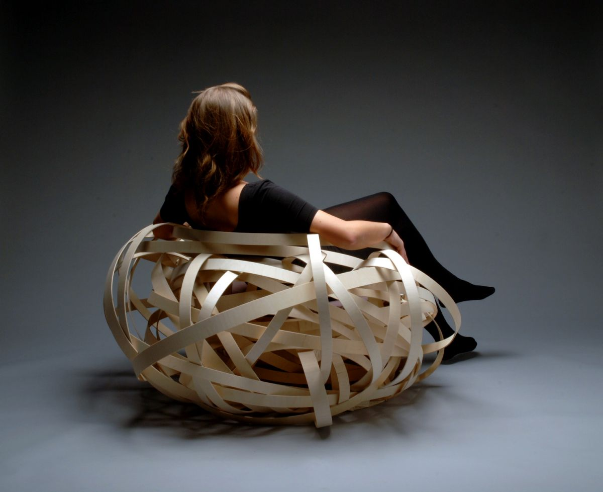 Bird Nest Chair The Nest Chair By Nina Bruun Karmatrendz