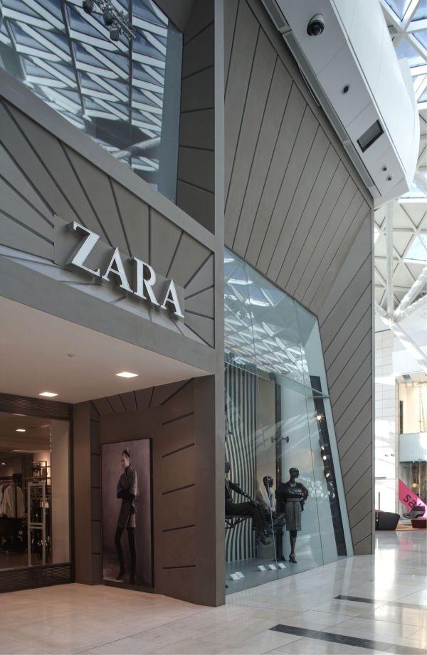 Faade Of Zara Store Westfield London Karmatrendz
