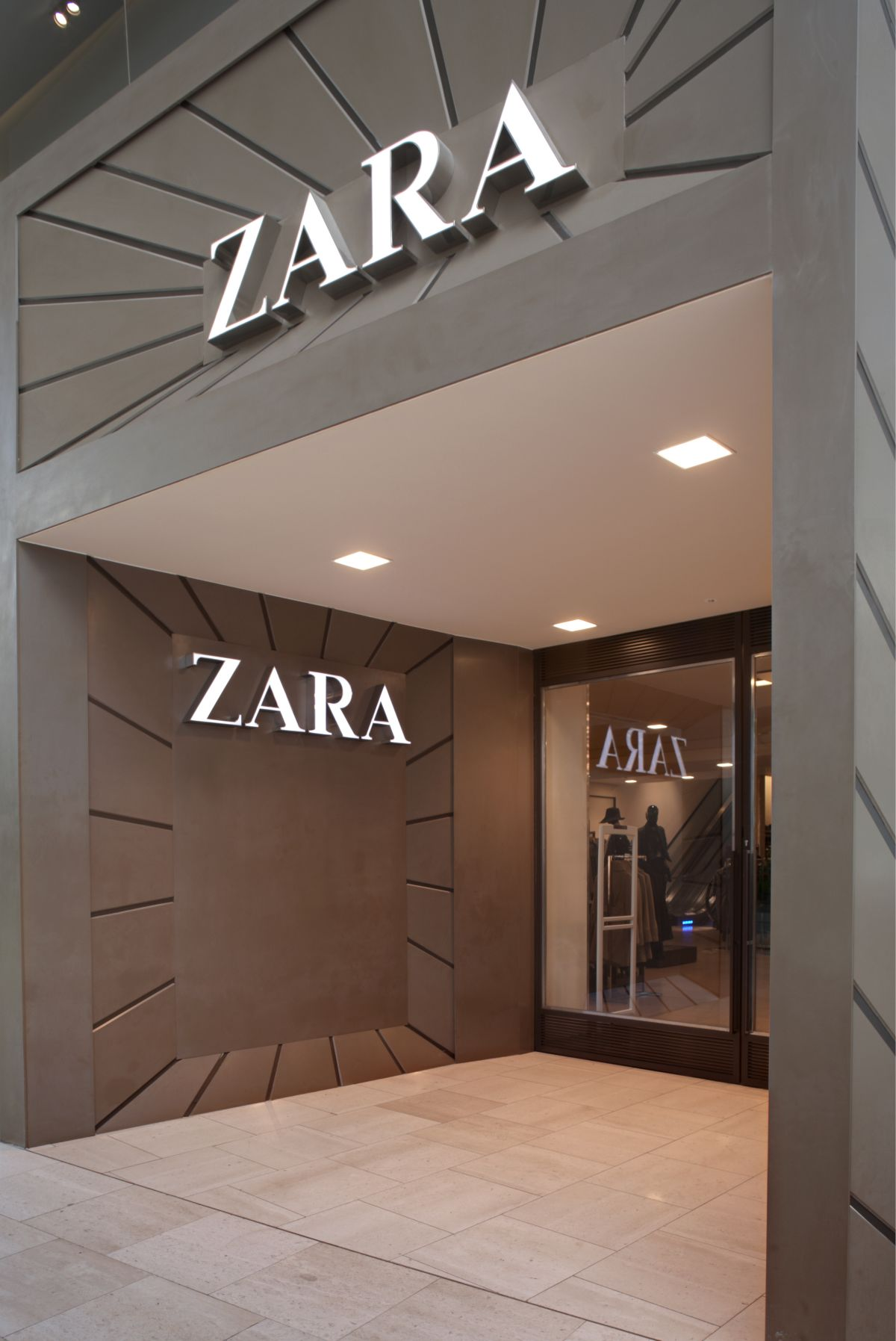 The Faade of the Zara Store at Westfield London  KARMATRENDZ