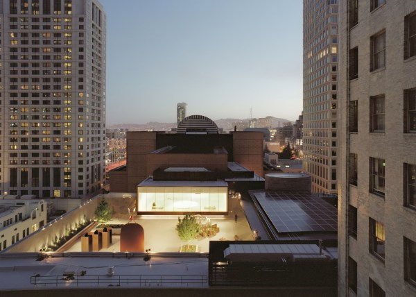 Rooftop Garden San Francisco Museum of Modern Art