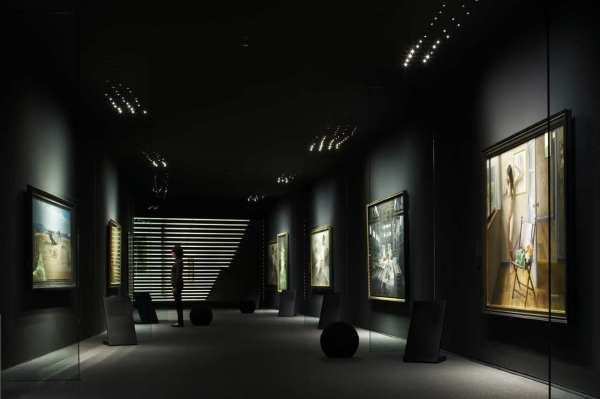 Dark Art Gallery Museum