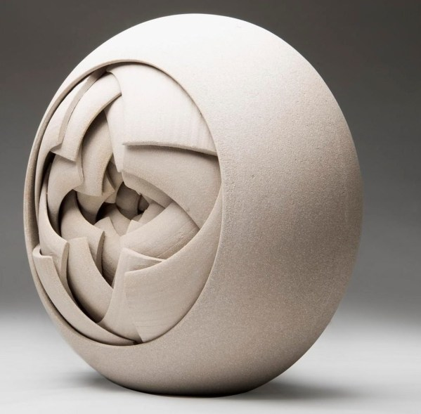 Contemporary Ceramic Abstract Sculptures