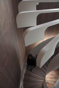 Spiral Staircase Lighting by .PSLAB   KARMATRENDZ