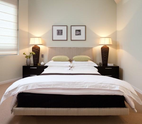 small apartment bedroom idea Royal Penthouse II by Coco Republic Interior Design
