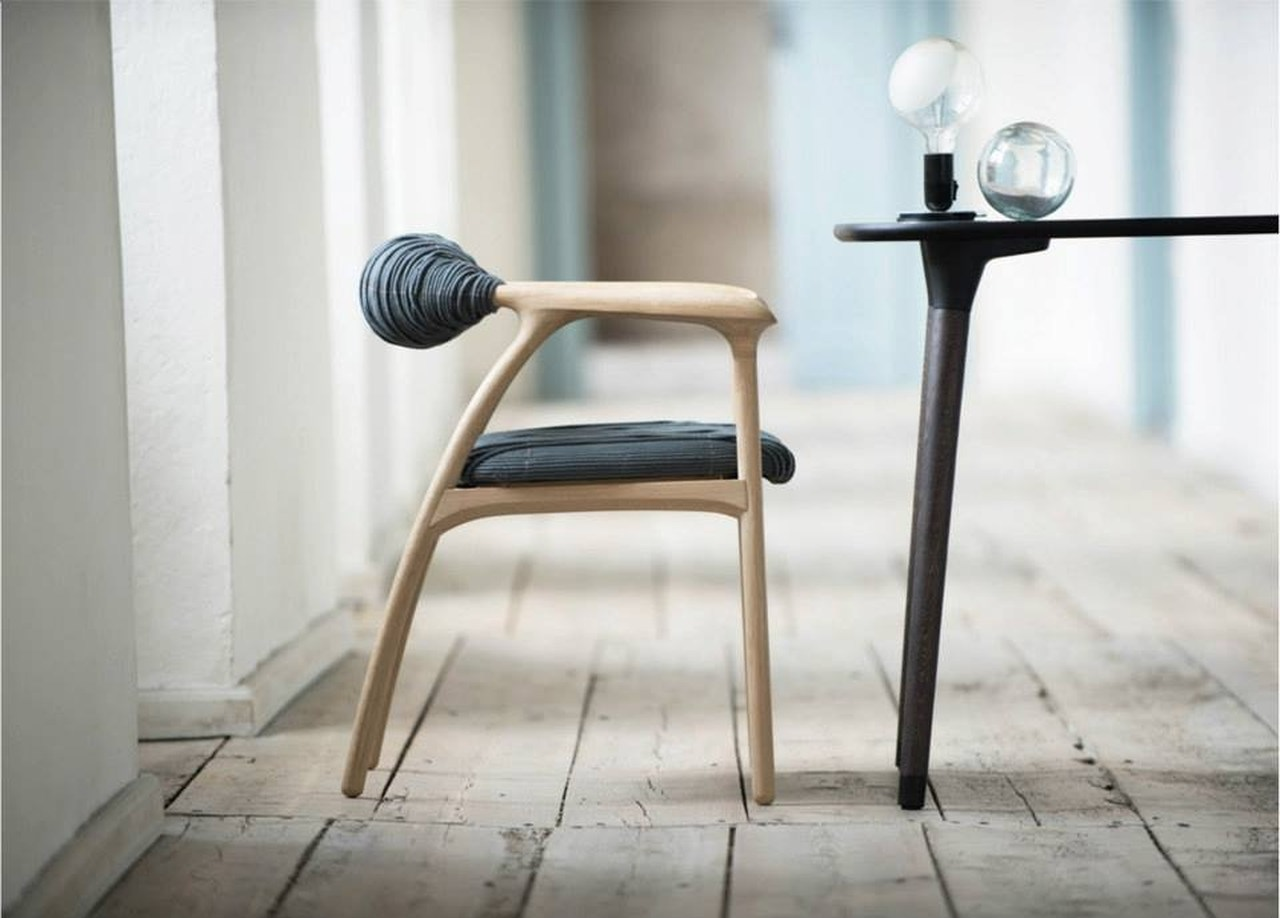 chair design studio swivel office no arms haptic by trine kjaer karmatrendz