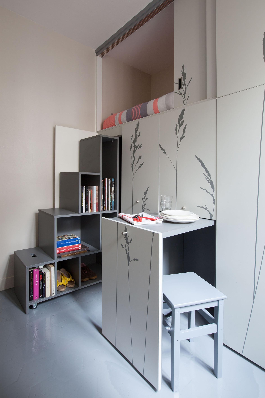 Tiny Apartment In Paris by Kitoko Studio  KARMATRENDZ