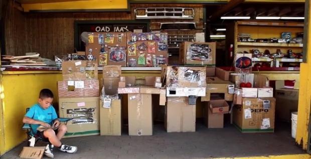 Caine's Cardboard Arcade