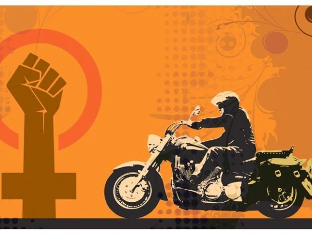 The Motorcyclist with a Different Agenda