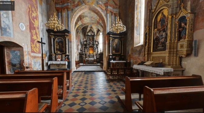 Virtualna šetnja kroz crkvu u Remetama
