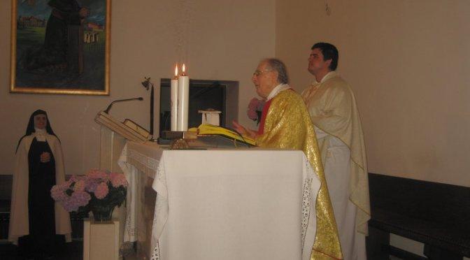 Dijamantna misa prof. Ivana Goluba u Karmelu u Brezovici