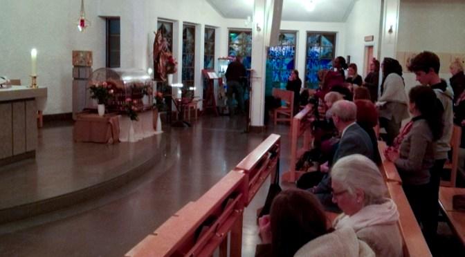 Posjeta svete Terezije od Djeteta Isusa i njenih roditelja Skandinaviji