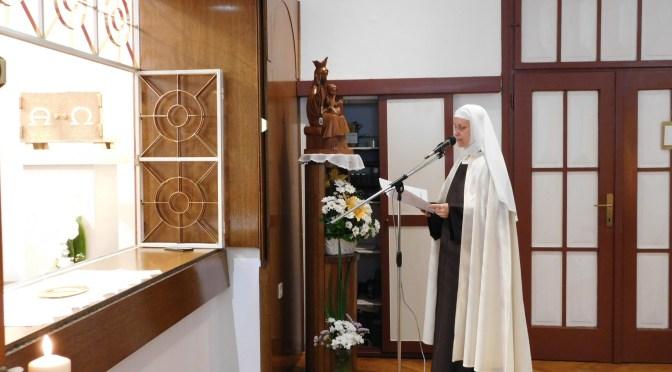 Svečani zavjeti sestre Karmele