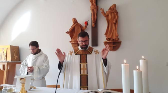 Proslava blagdana svete Male Terezije u njezinom Karmelu u Kloštar Ivaniću