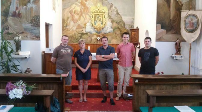 Novicijat i gračka zajednica u posjetu o. Endreu u Mađarskoj