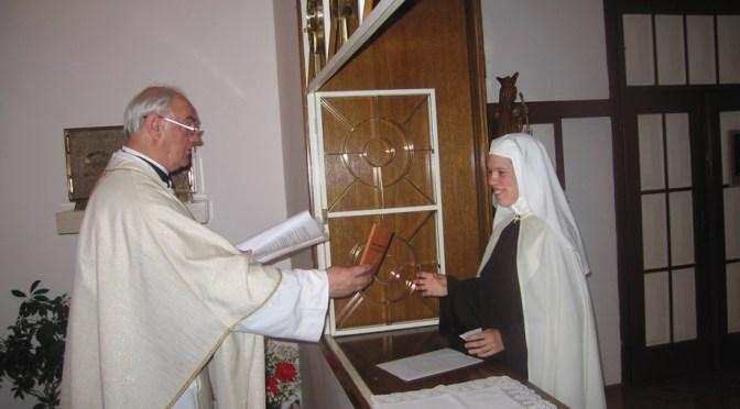 Prvi zavjeti s. Ane Marije od Presvetog srca Isusova