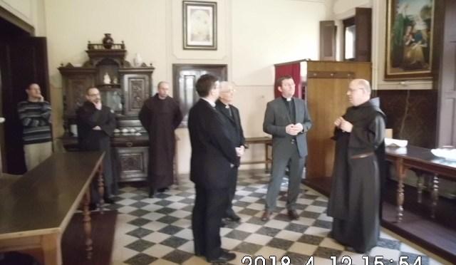 Susret s apostolskim nucijem u somborskom Karmelu