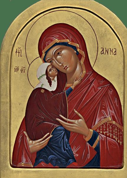 Ikon - S:ta Anna
