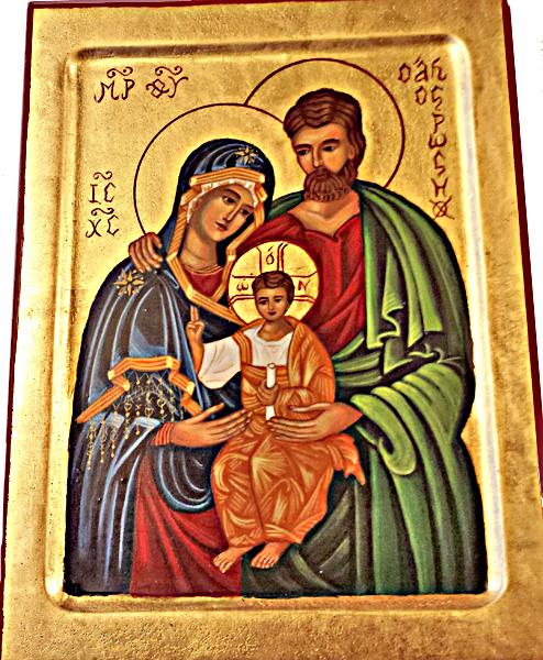 Ikon - Den heliga familjen
