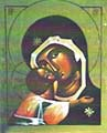 Guds moder av tecknet