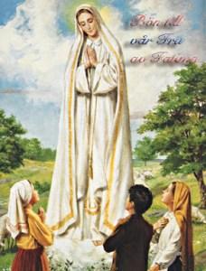 Bön till Vår Fru av Fatima