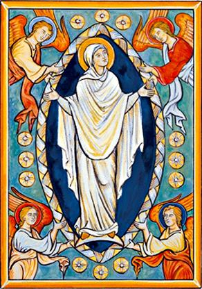 Jungfru Marias upptagning till himlen