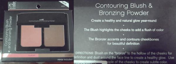 REVIEW:  ELF Contouring Blush and Bronzing Powder (1/3)