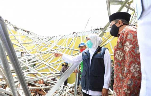 Gubernur Jawa Timur Targetkan Rekonstruksi Rumah Warga Terdampak Gempa Selesai 2 Bulan