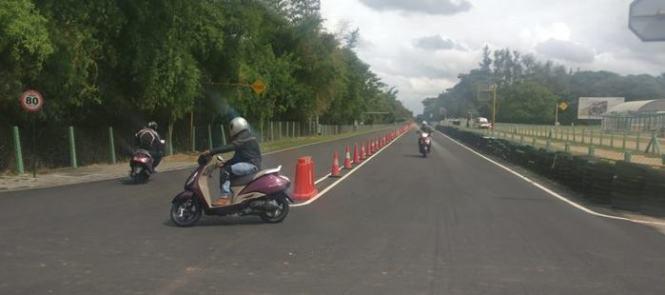 TVS Jupiter Scooter test ride