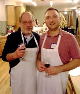 Mark and Jared at the Chopping Block