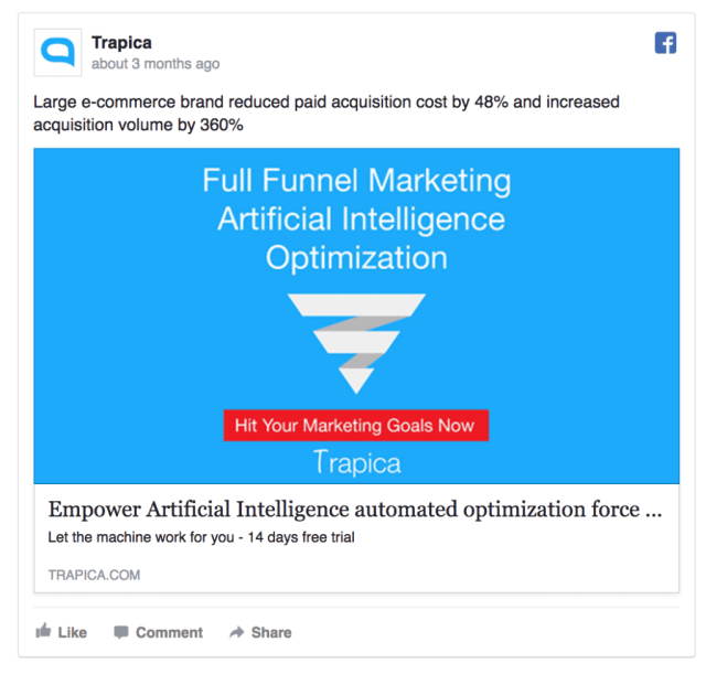 16 Best Facebook Ad Examples (16 Update with 16 New Creatives)