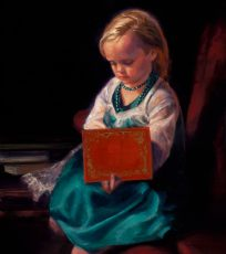 Girl With The Red Book