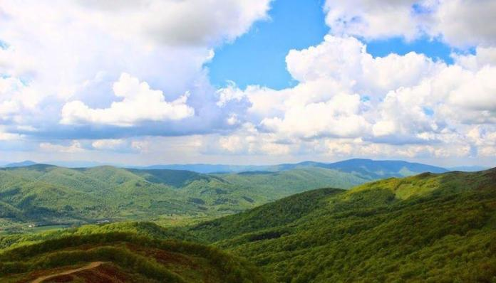 Bieszczady Mountains in Poland