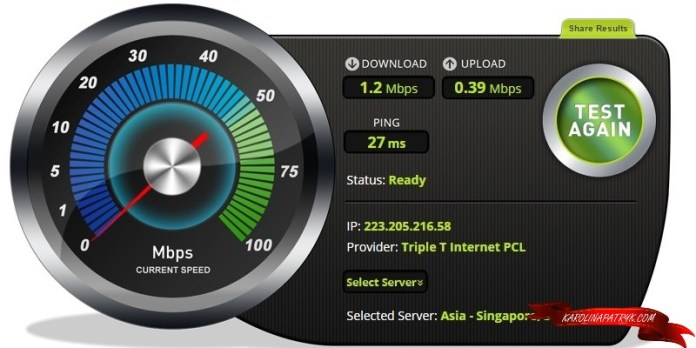 Pangkhon Coffee Chiang Mai speedtest