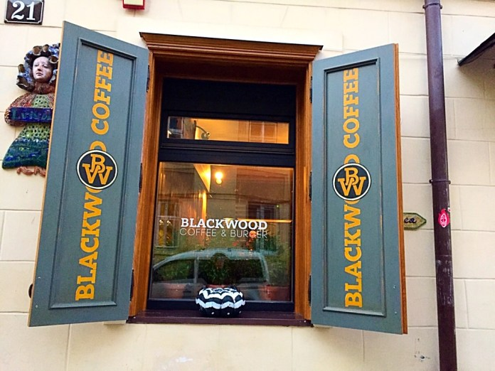 Blackwood coffee and burger lviv. Where to work online in Lviv?