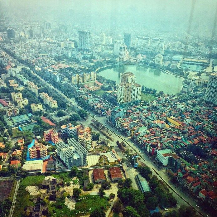Vietnam city from above | Facts on Vietnam