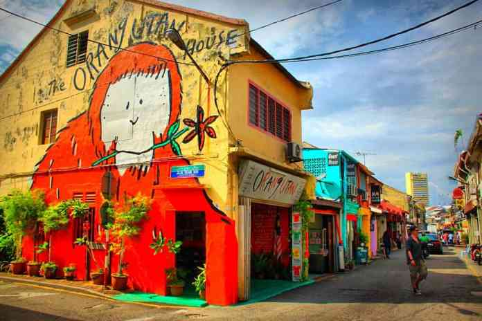 The Orangutan house in Melacca