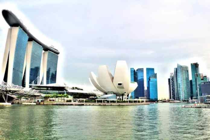 Singaporean skyscrappers
