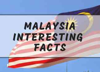 Interesting Malaysia facts
