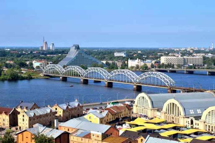 The Railway Bridge in Riga