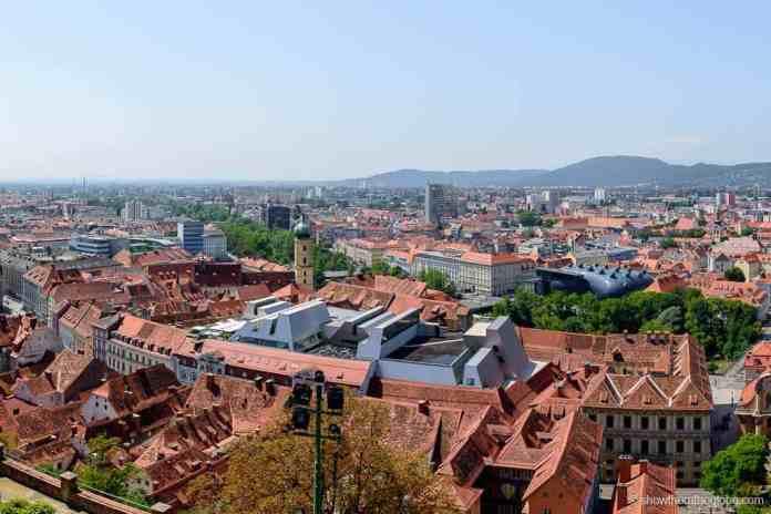Graz castle