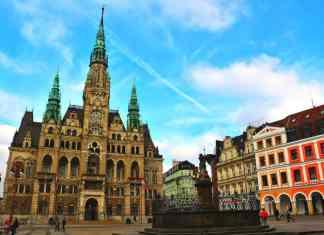 Beautiful town hall Liberec
