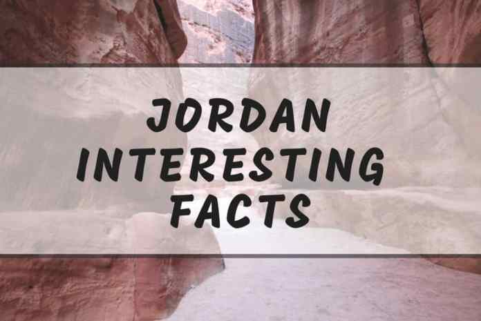 interesting jordan facts
