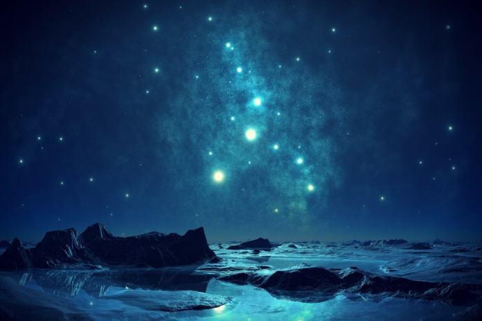 blue sky night new zealand honeymoon