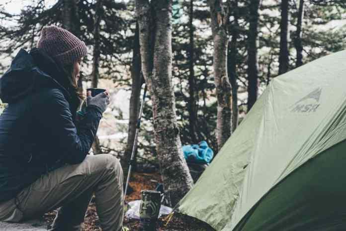 camping honeymoon at new zealand