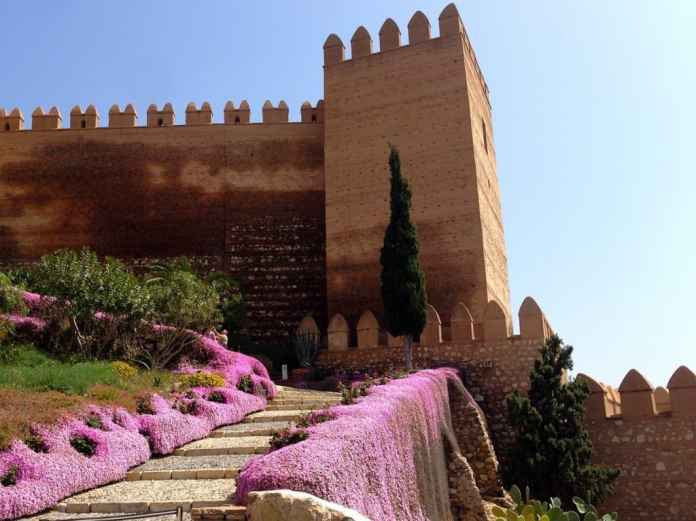 Beautiful fairy tale castle in Almeria